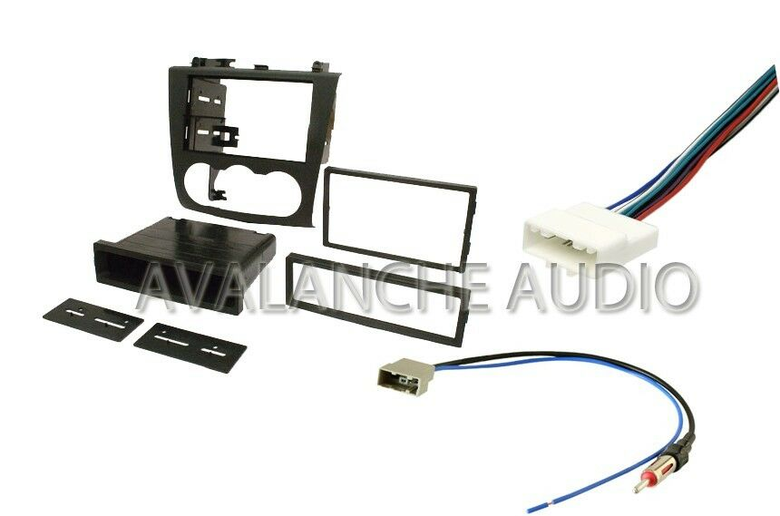 Wiring Harness Kit For Radio : Double din car stereo kit w wiring harness antenna