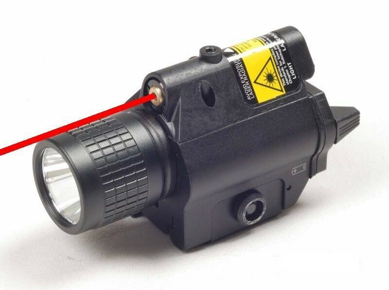Flashlight Red Laser Sight Combo Smith Weson Sd40ve