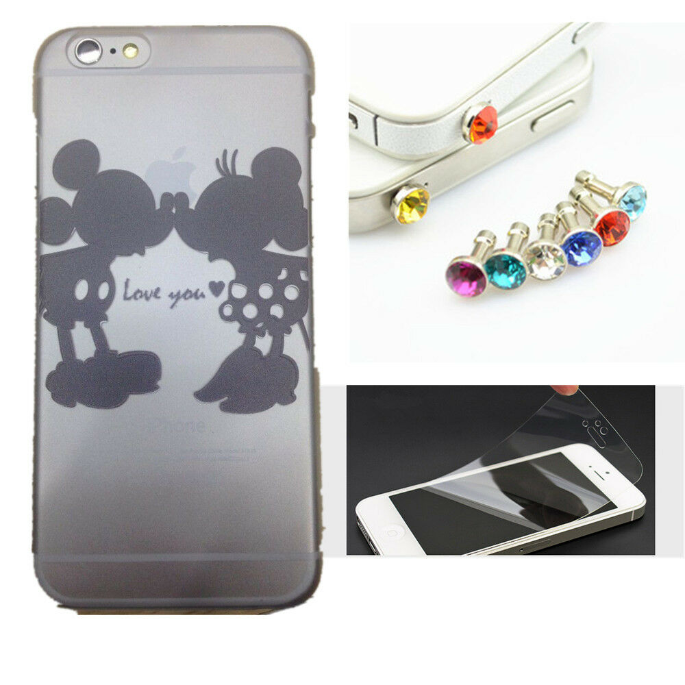 Disney Mickey And Minnie Mouse Kiss Transparent Case Cover ...