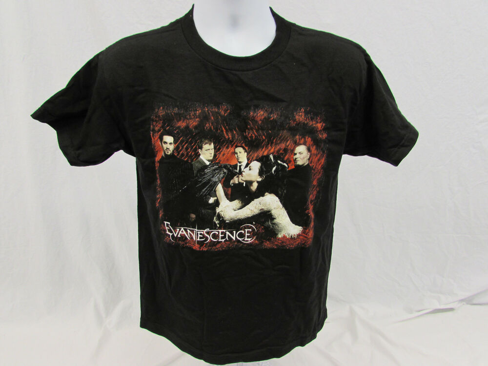 Evanescence Rock Band Concert T Shirt Size Youth Large Ebay