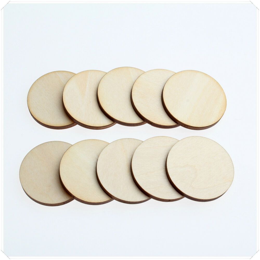 1cm 2cm 3cm wide wooden wood circle round ring craft card for Wood circles for crafts