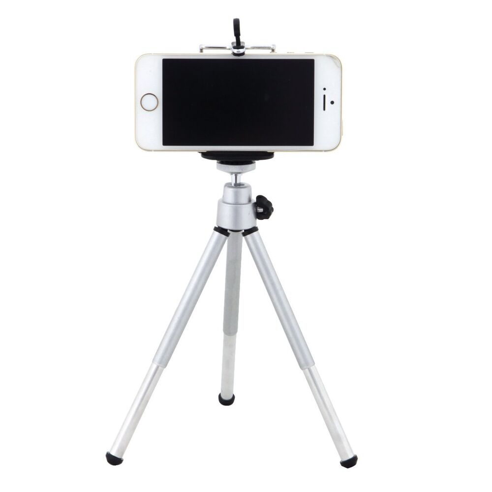 iphone tripod mount rotatable tripod stand holder mount for iphone se 6s plus 2491