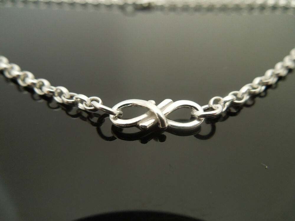 Sterling Silver Bracelet Or Ankle Chain Anklet Infinity