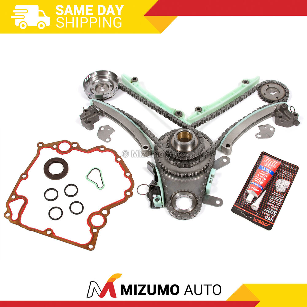 Fit 1999-2002 4.7 Dodge Jeep Timing Chain Kit Timing Cover