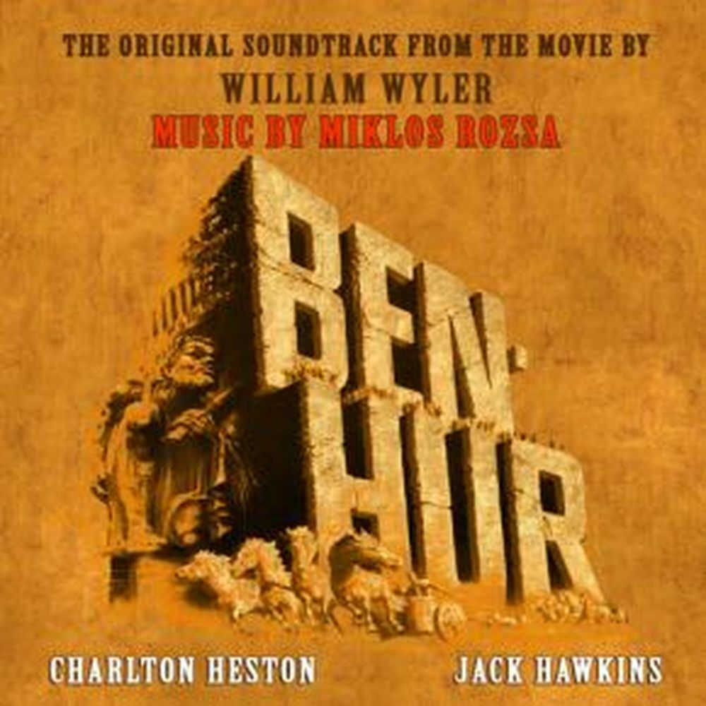 cd benhur miklos rozsa movie soundtrack ost ebay