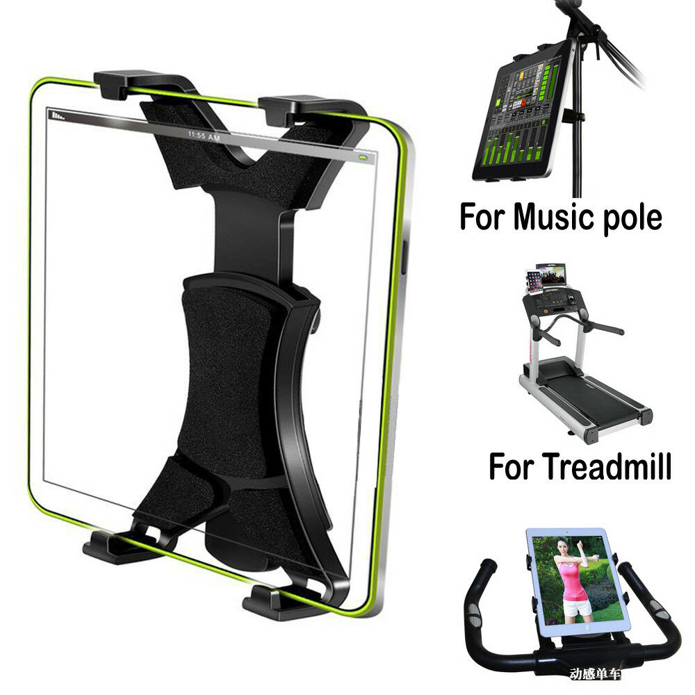 universal tablet microphone music stand mount holder bracket clip adjustment 360 ebay. Black Bedroom Furniture Sets. Home Design Ideas