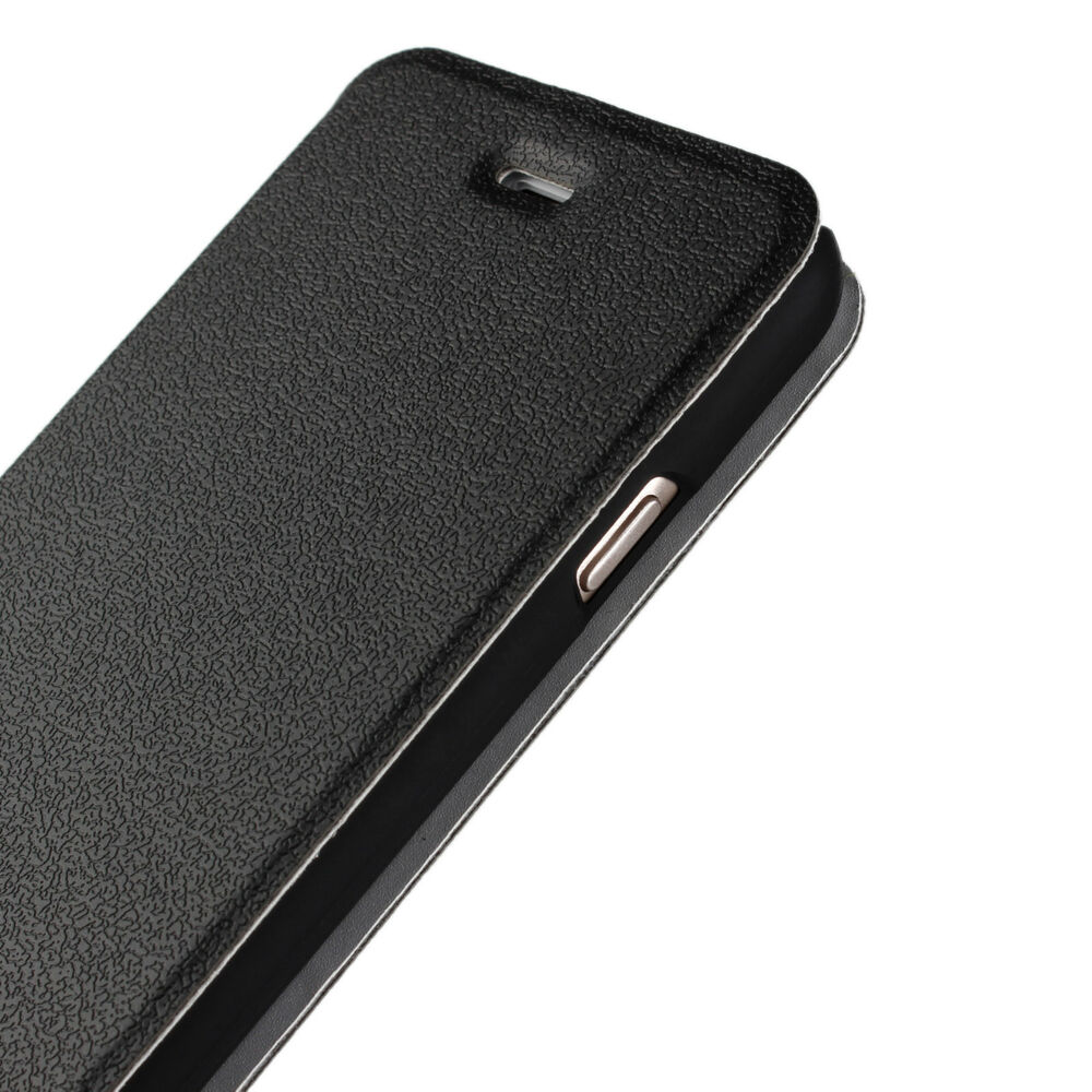 leather iphone cases for iphone 6 plus 6s plus black leather ultra slim open 8573