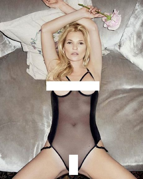 Kate moss first nude speaking, would
