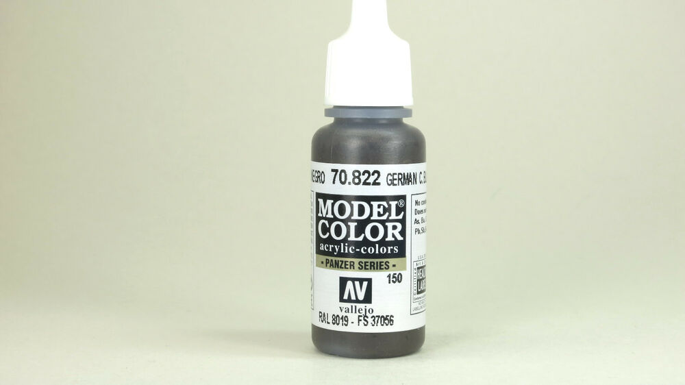 Vallejo Model Color German Camouflage Black Brown 70 822