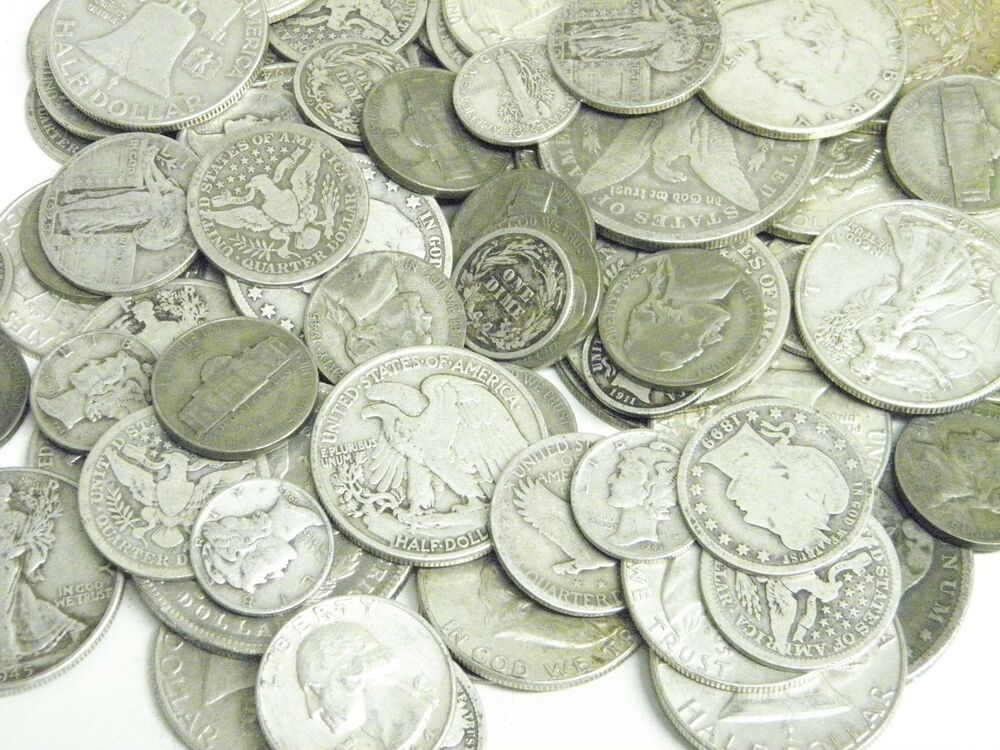 1 2 Pound 8 Oz Lots Us 90 Amp 35 War 5c Silver Coins