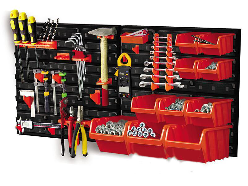 Sidewall Storage Shed  Tool Storage Workbench For