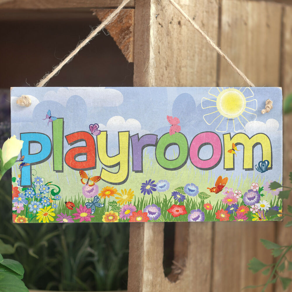 Playroom Handmade Colourful Children S Kid S Play Room
