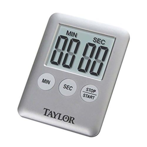 Taylor Ultra Thin Digital Timer Kitchen Cooking Timer New