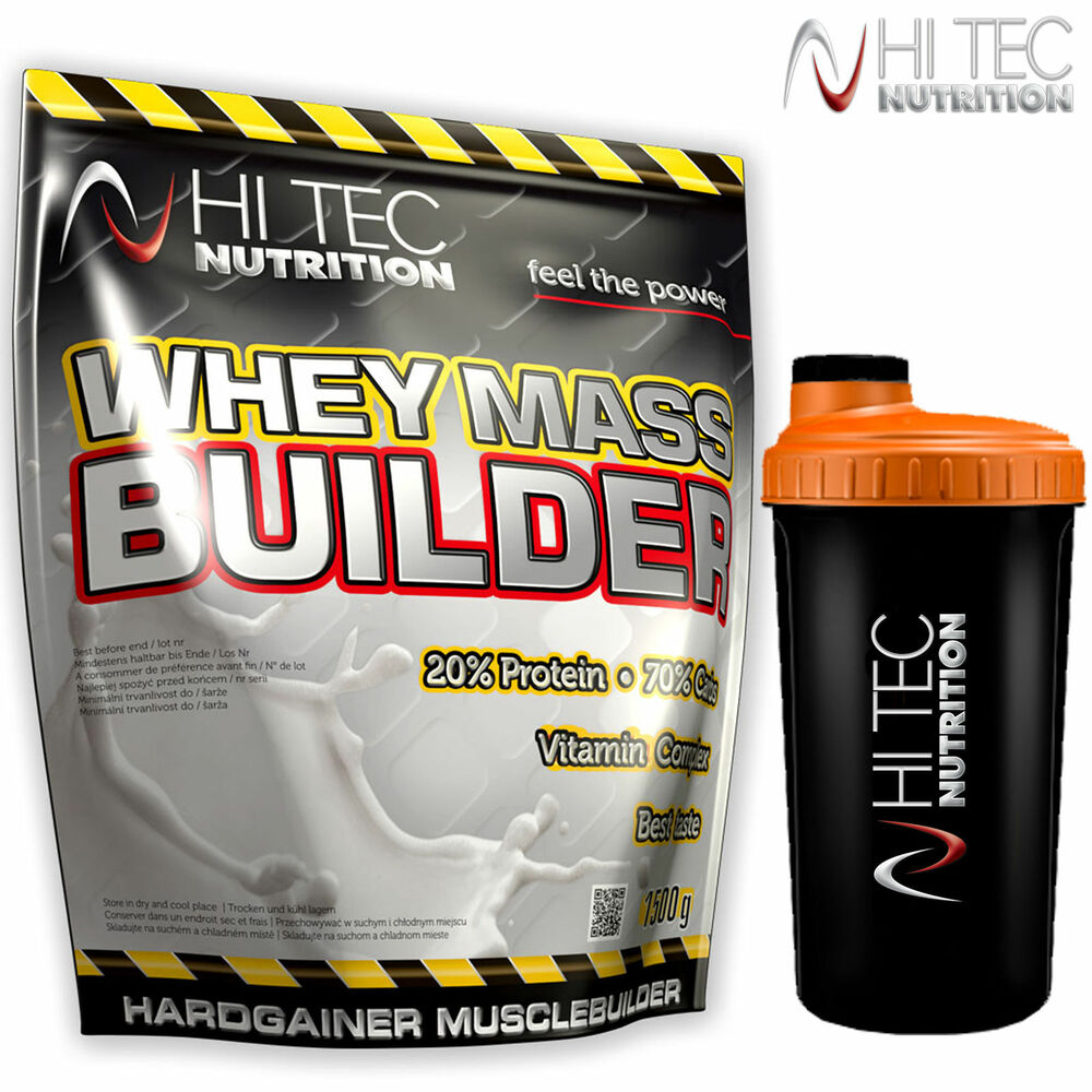 Mass gainer or whey protein for muscle growth