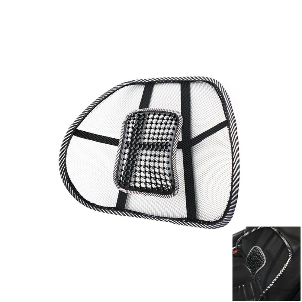 New Ventilation Acupressure Waist Car Sit Cushion Air Back