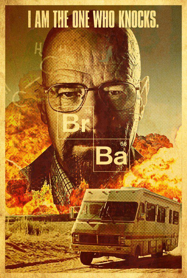 Breaking bad season tv show poster art print a4 a3 buy 2 for Buy art posters online
