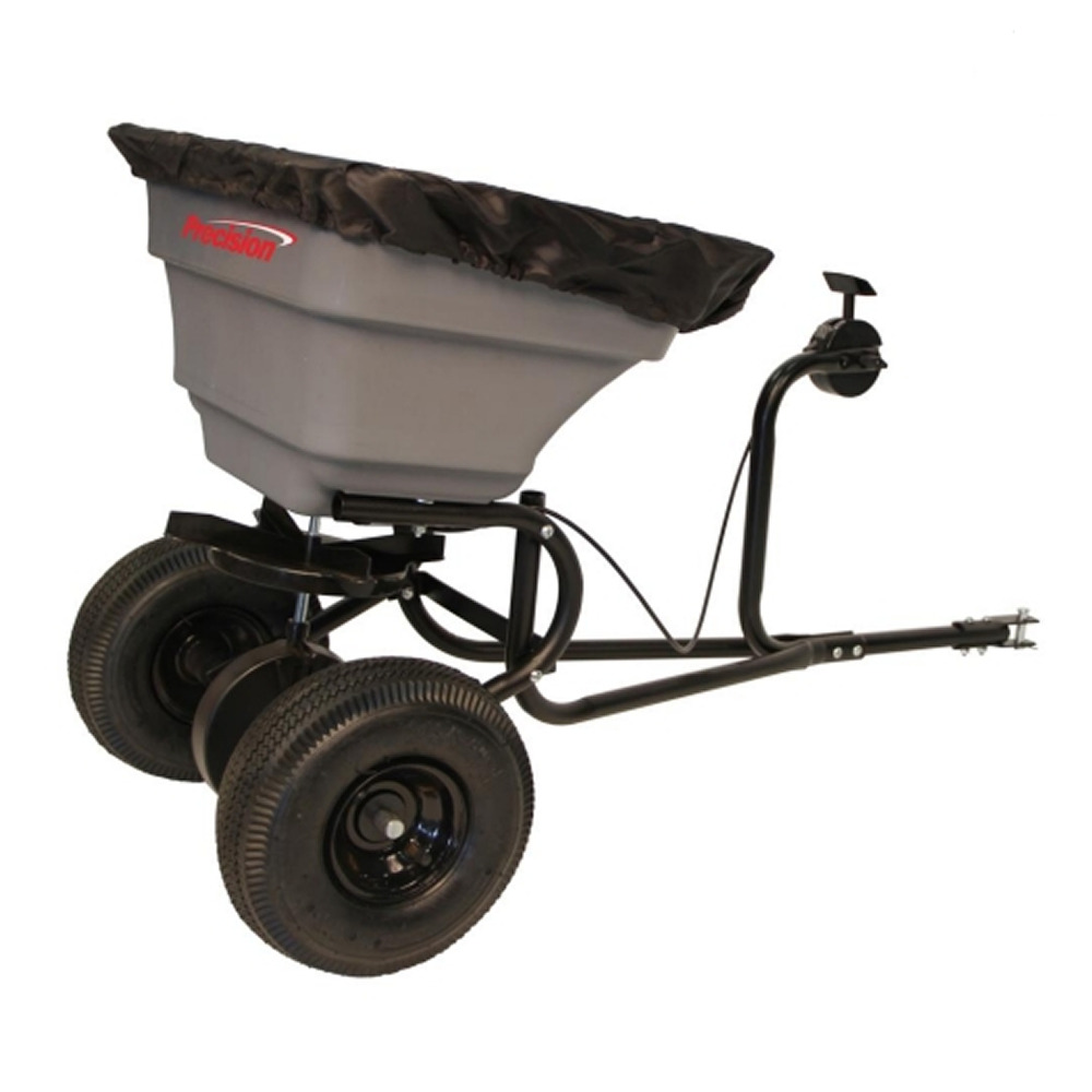 Tow Behind Broadcast Spreader : Precision products lb pro series tow behind broadcast
