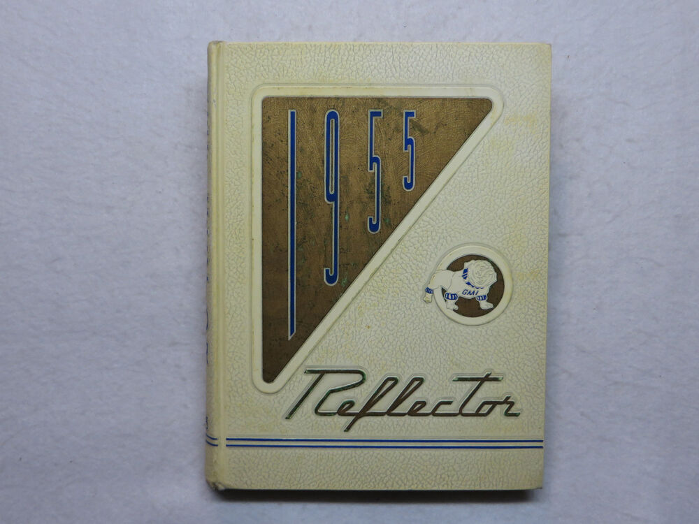 1955 general motors institute yearbook the reflector flint mi michigan. Cars Review. Best American Auto & Cars Review