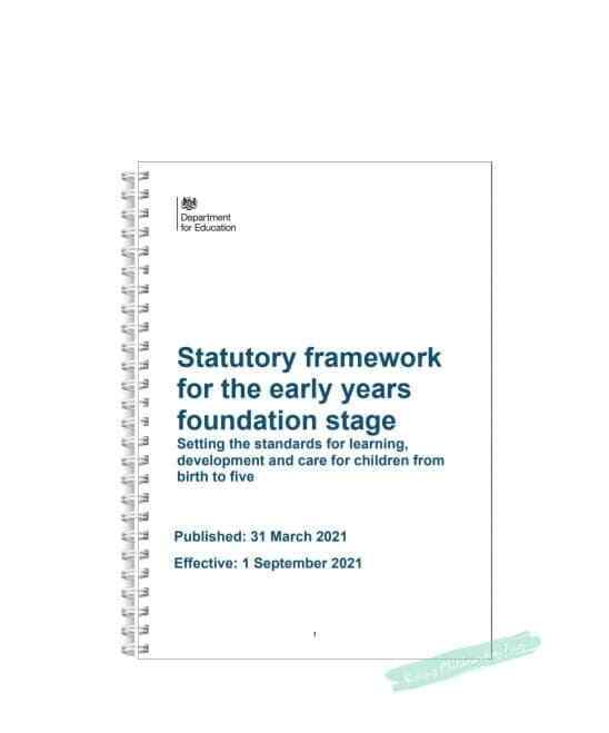 early years framework The early years foundation stage (eyfs) sets standards for the learning, development and care of children from birth to 5.