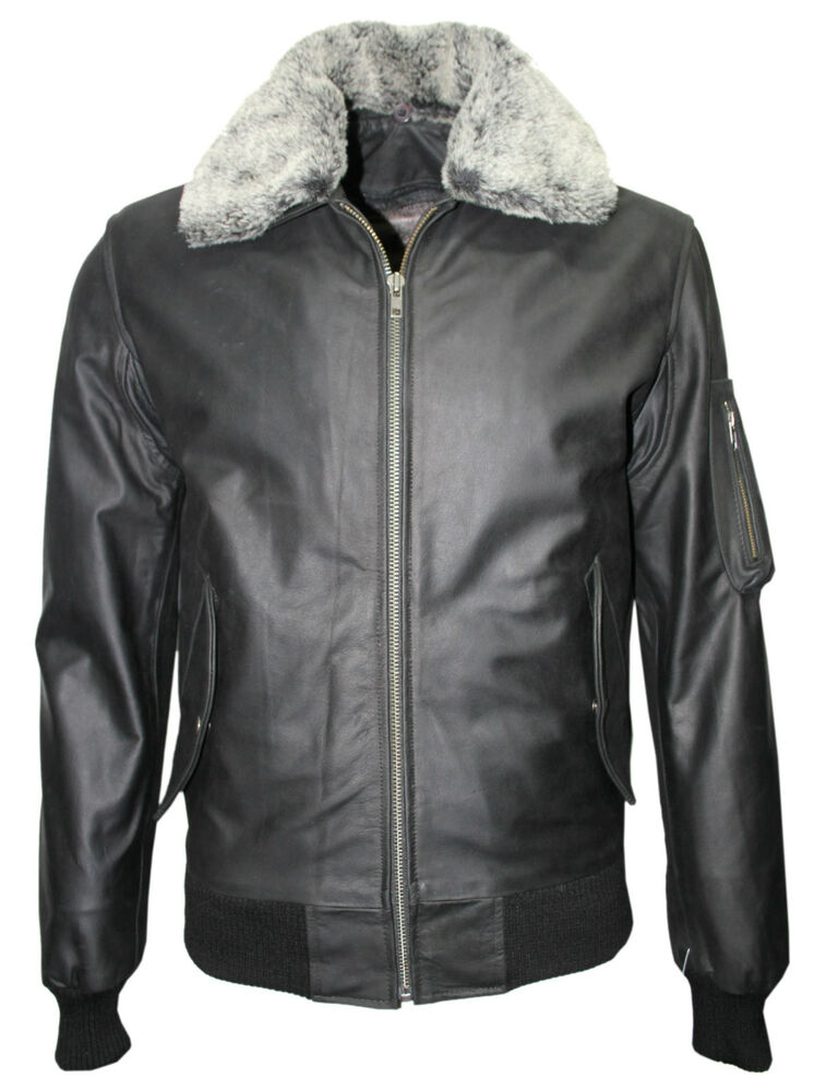 Air force leather bomber jacket