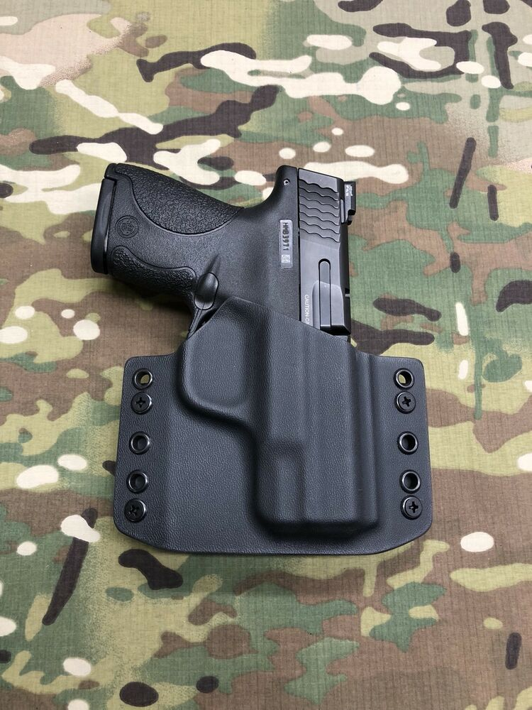 M And P Shield Holster Black Kydex Holster M&...