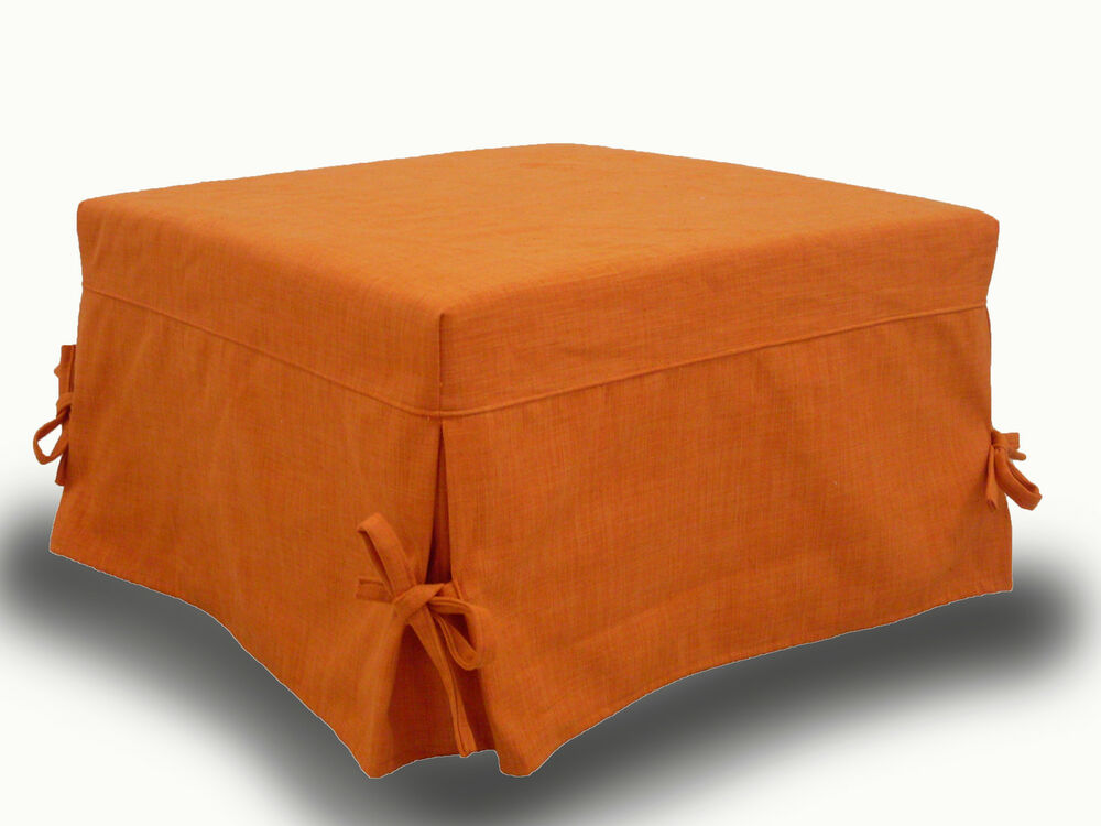 Single folding bed pouffe bed with high quality mattress