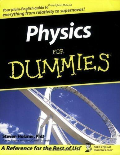 Physics For Dummies For Dummies Math Science 9780764554339 Ebay