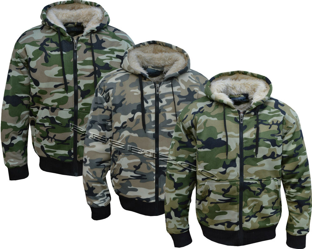 Mens Fleece Hunting Clothing