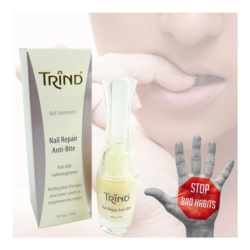 Anti Nail Biting Polish: Trind Nail Repair Anti-Bite Nail Strengthener Nail Care