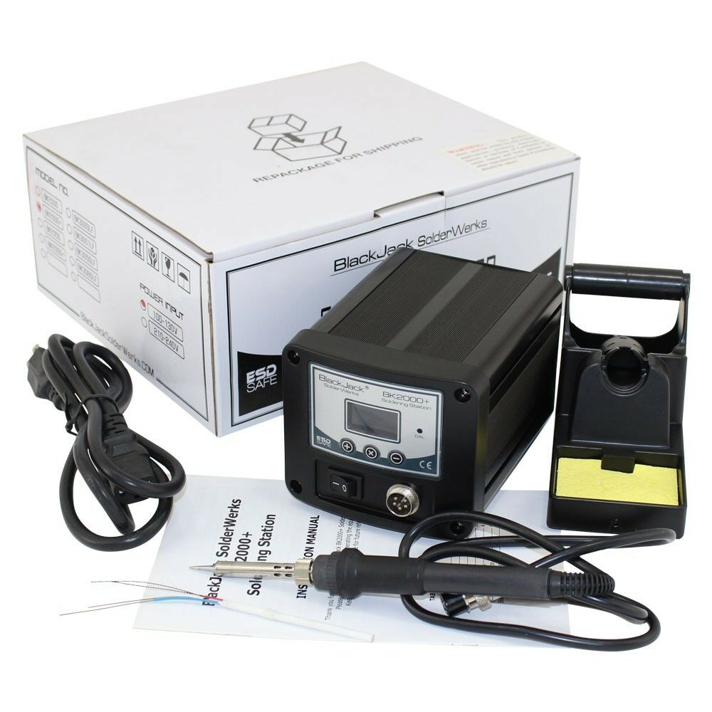 Digital Soldering Station : Bk premium digital soldering station temperature