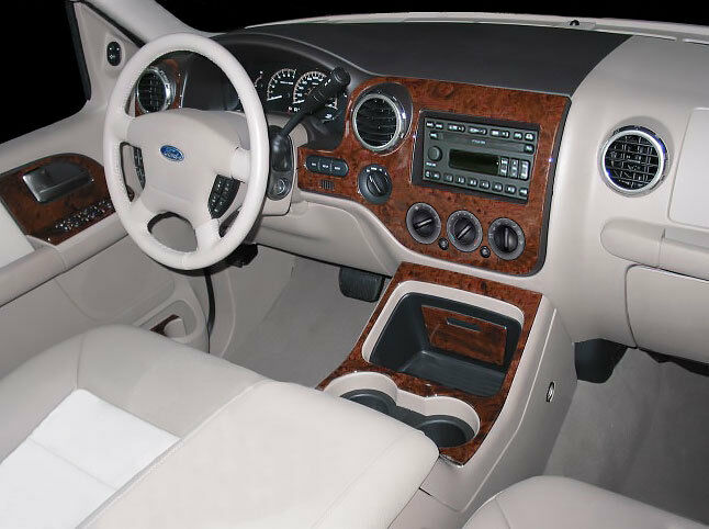 Wood dash trim kit basic kit 24 pcs fits ford expedition 2003 2006 ebay for 2004 ford expedition interior parts