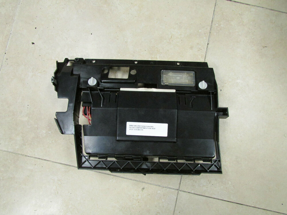 E39 Boot Fuse Box : Bmw e  i sedan touring wagon glove box