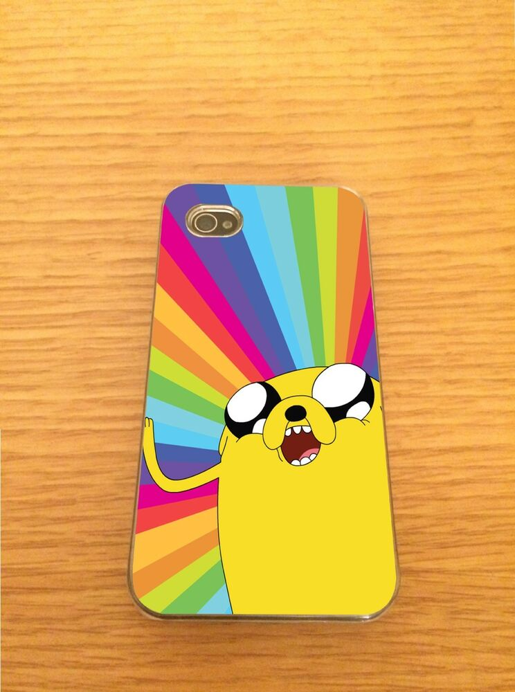 Adventure Time Iphone Hard Case Cover - Fits 4,5,5c Rainbow : eBay