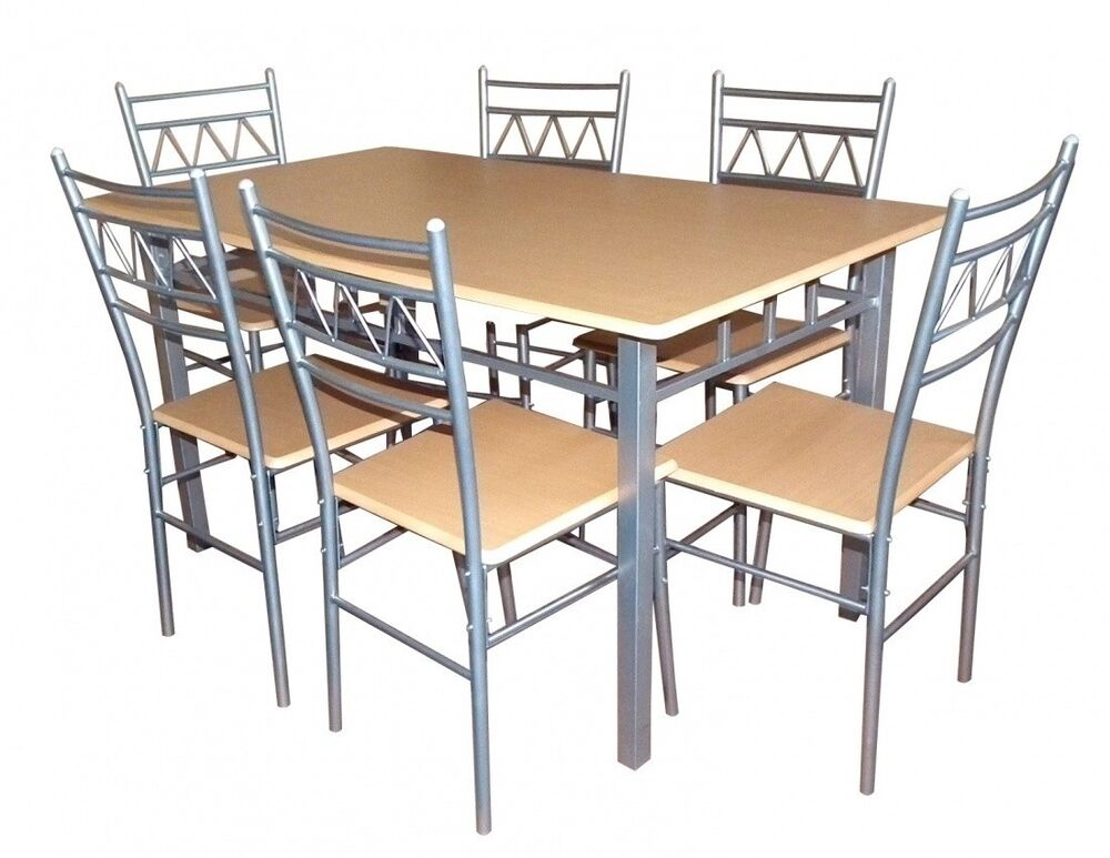 Oslo SilverBeech Dining Table 6x Matching Chairs  : s l1000 from www.ebay.co.uk size 1000 x 773 jpeg 83kB