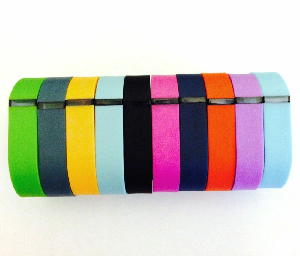 10 Small Multi Color Bands for FitBit FLEX Wristband ...
