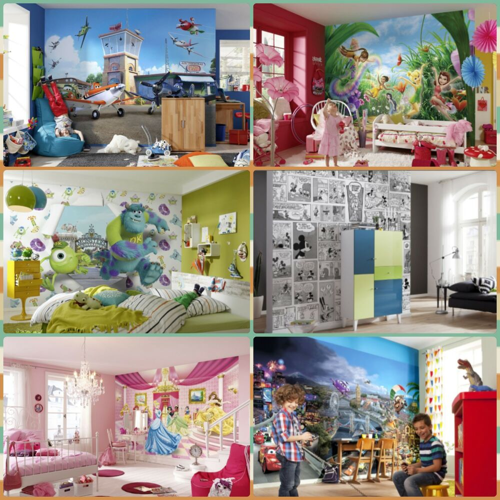 Wallpaper mural photo komar wall decor paper kids room - Paper decorations for room ...