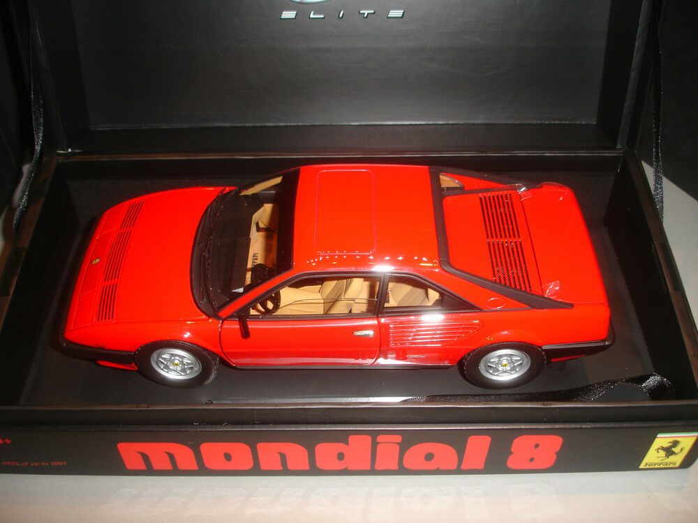ferrari mondial 8 hot wheels super elite limited edition 1 18 ebay. Black Bedroom Furniture Sets. Home Design Ideas