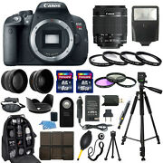Canon EOS Rebel T5i DSLR Camera with 18-55mm Lens + 30 Piece Accessory Bundle