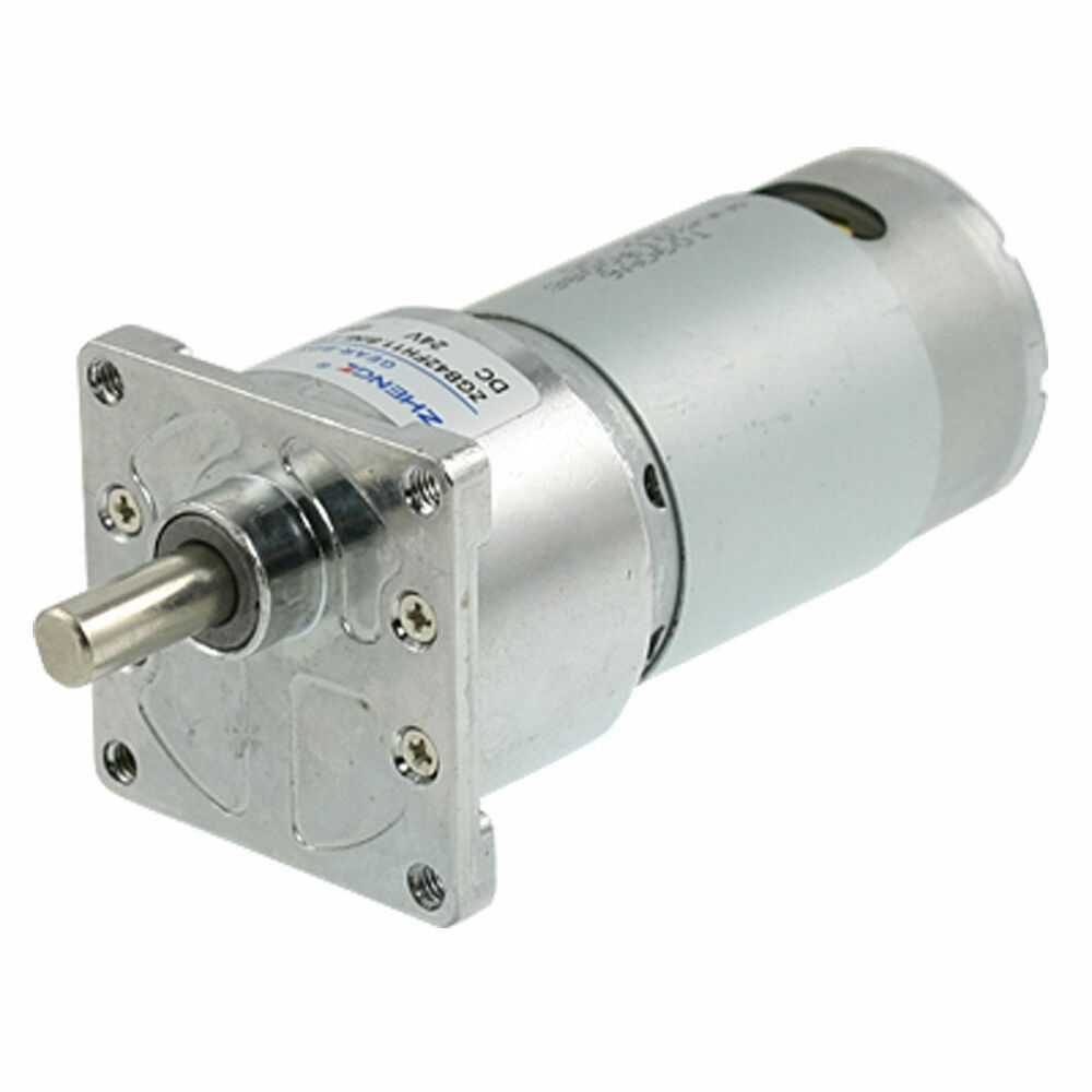 300rpm Dc 24v Speed Reducing Geared Motor