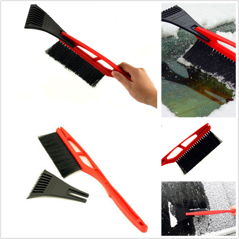 Car Suv Roof Windshield Front Hood Snow Removal Brush Ice