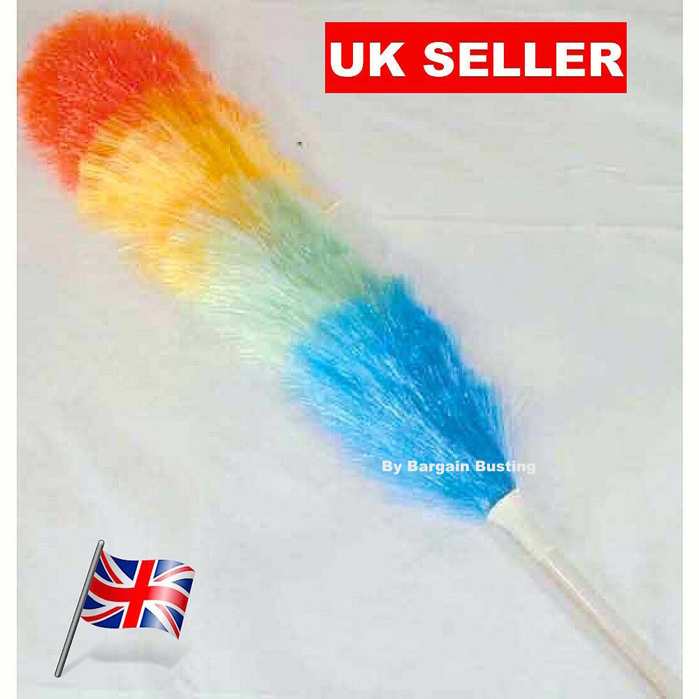 Anti Static Mop : Magic expandable m anti static feather duster