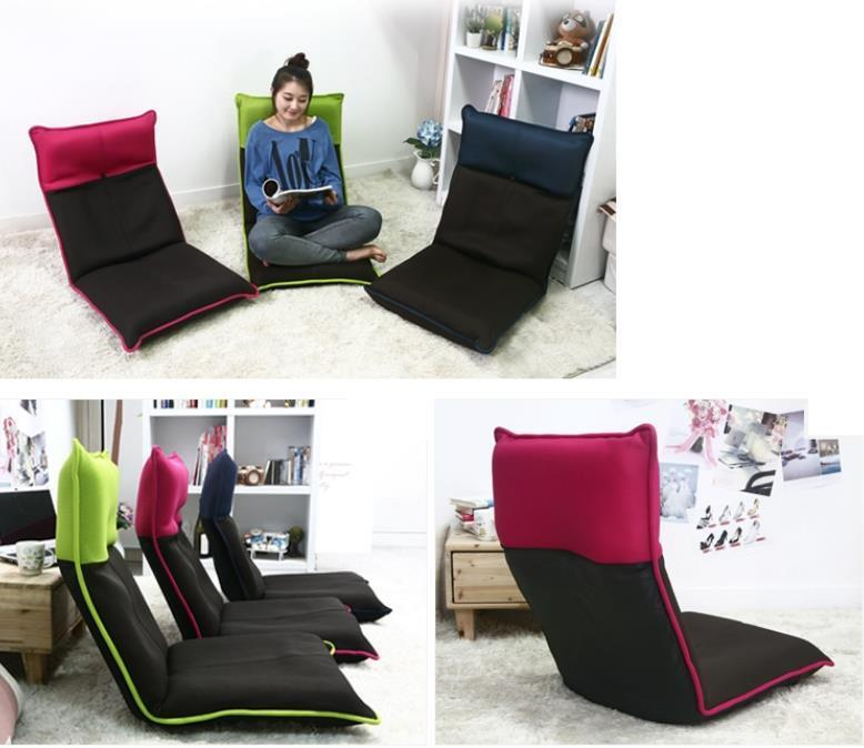 Legless Chair Folding Floor Chair Zaisu Tatami Ergonomic