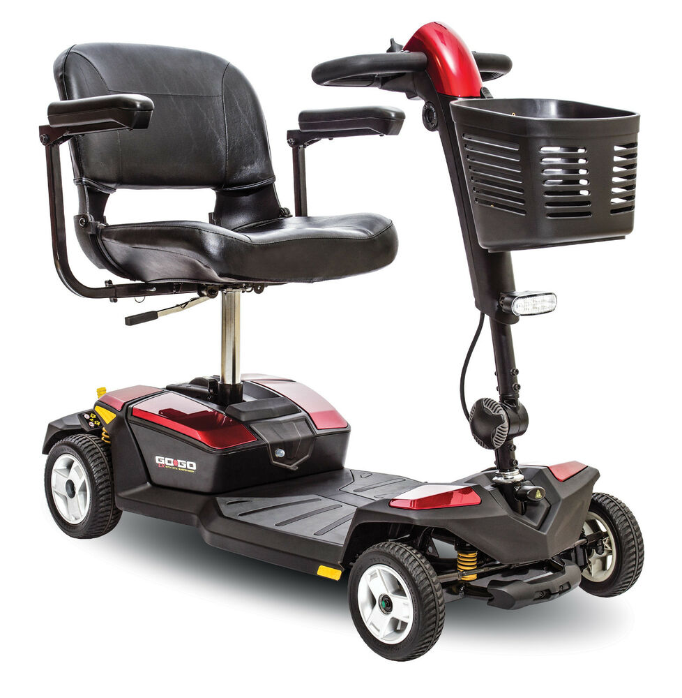 Pride mobility go go lx with cts travel scooter s54lx for Chaise electrique