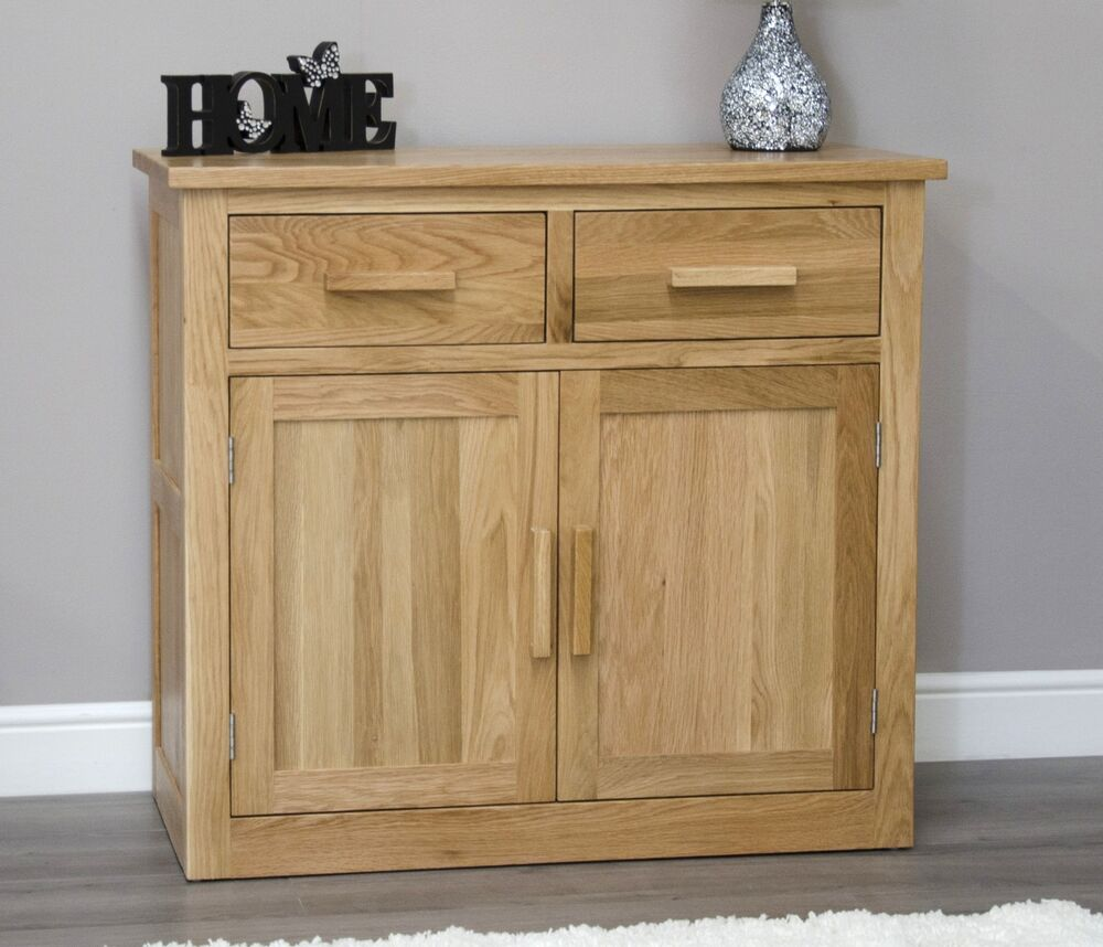 Arden sideboard small storage buffet living dining room solid oak furniture eBay