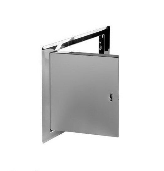 Stainless steel access panel 300mm x 300mm metal for 12 inch door