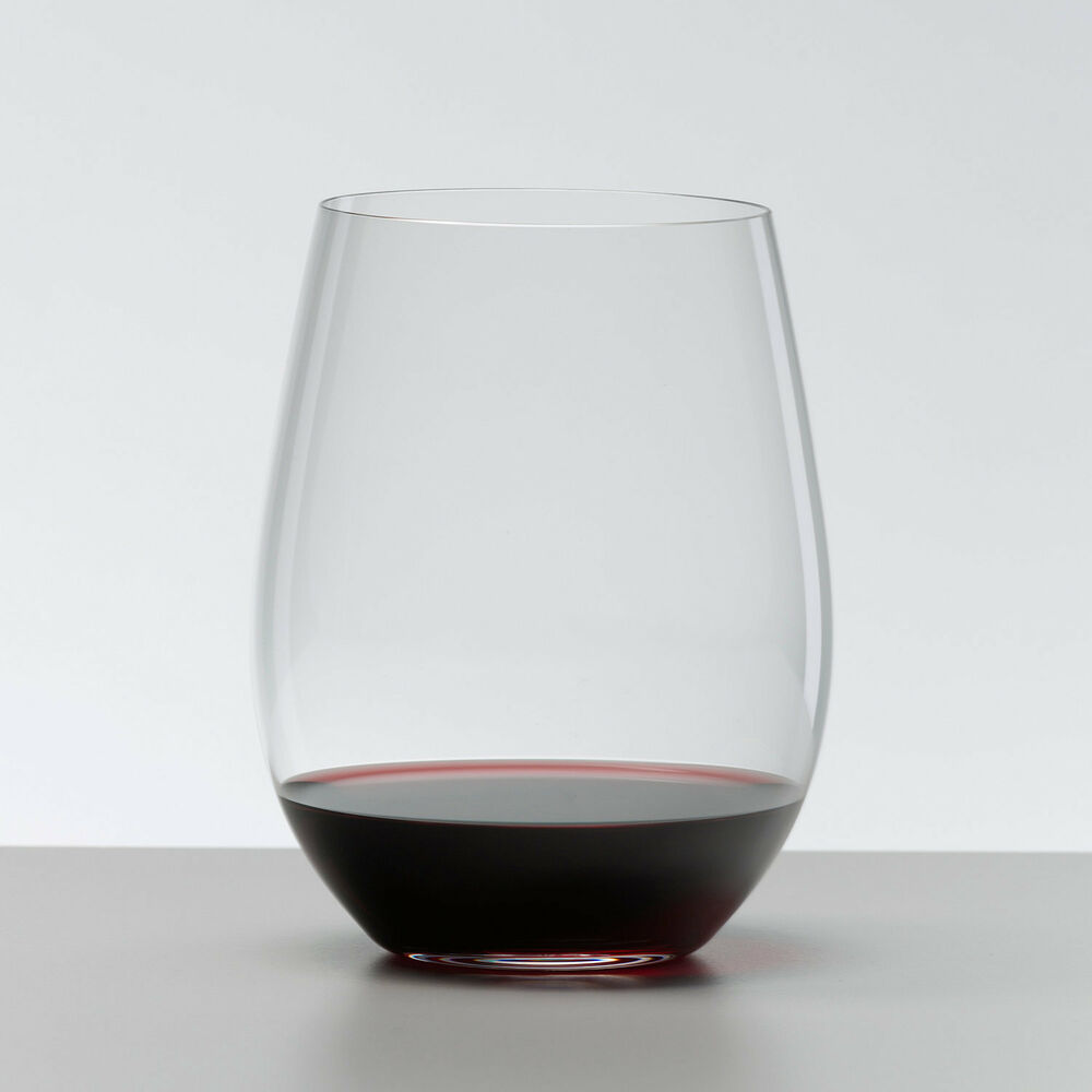Riedel big o cabernet stemless wine glass set of 2 ebay for Large white wine glasses