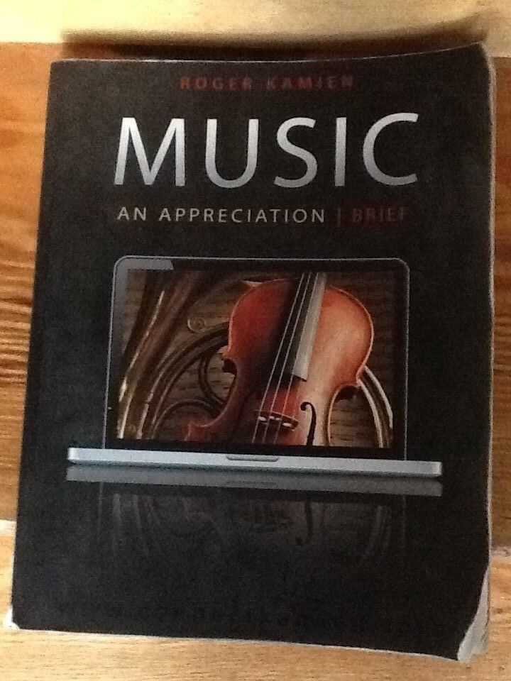 music appreciation study guide 2 Study guide for use with music: an appreciation, brief [roger kamien] on amazoncom free shipping on qualifying offers the study guide and student workbook provides additional study materials and listening activities.