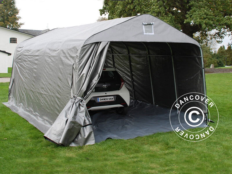 Portable Car Covers Or Shelters : Portable garage storage shelter tent carport shed car