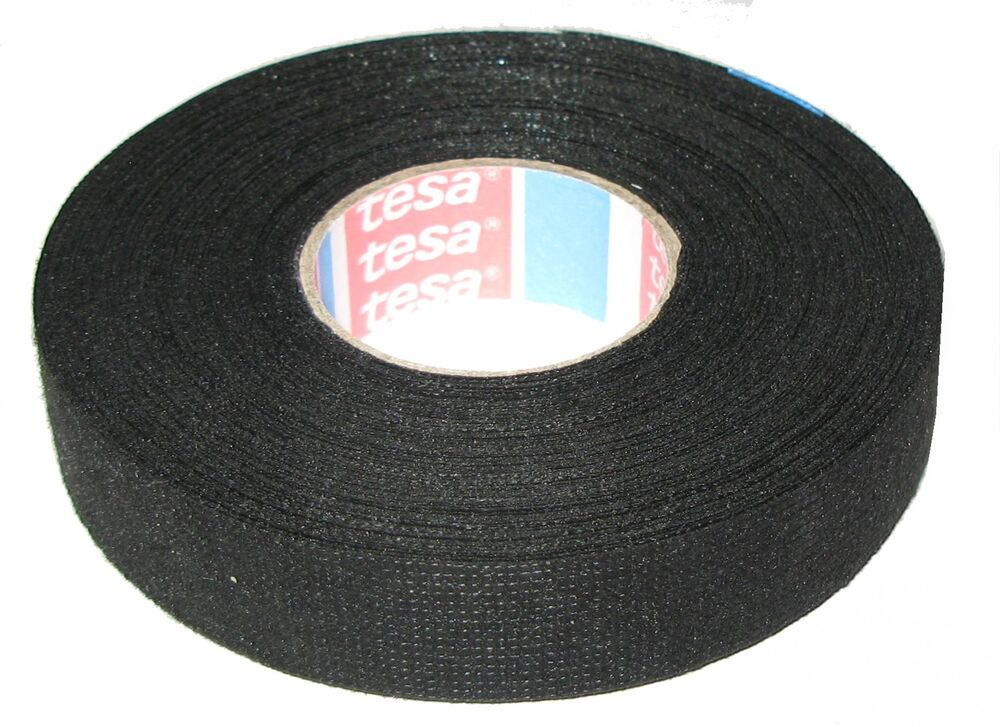 tesa 51608 19mm x 25m adhesive cloth fabric tape with engine wiring harness headlight wiring harness