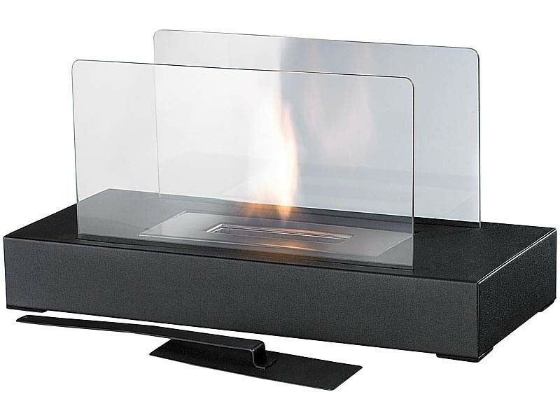 tischkamin f r bio ethanol tischfeuer glaskamin tisch kamin ebay. Black Bedroom Furniture Sets. Home Design Ideas